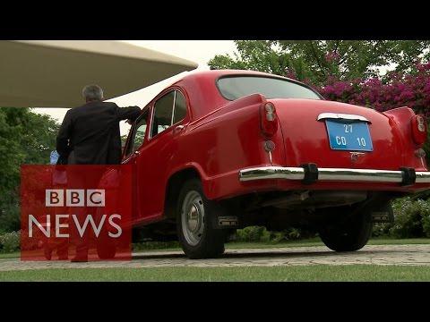 India's iconic Ambassador car - BBC News