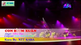 [Karaoke] Con Bướm Xuân - Hiền Thục (full beat)