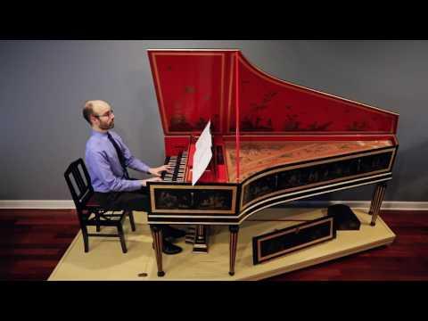 John Bull, The King's Hunt, harpsichordist Andrew Rosenblum