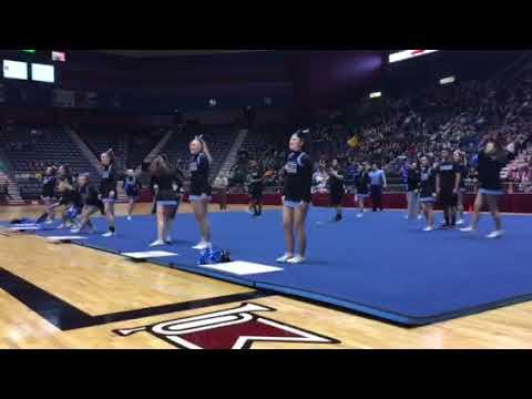 Cheyenne East stunt/cheer team