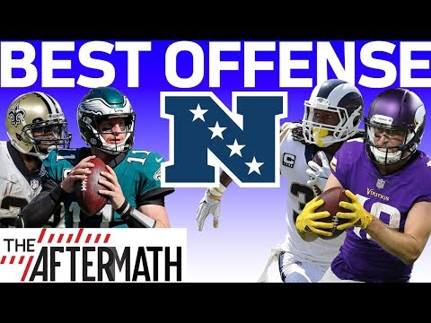 Which NFC Division Leader has the Best Offense? | The Aftermath | NFL Network