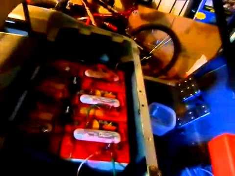 ezgo txt pds 36v golf cart charging problems