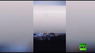 عاصفة رعدية غير عادية تضرب دبي