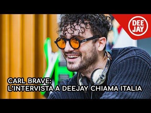"Carl Brave: il nuovo album ""Notti Brave After"" a Radio Deejay"