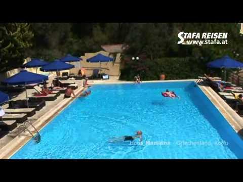 STAFA REISEN Hotelvideo: Marilena, Korfu