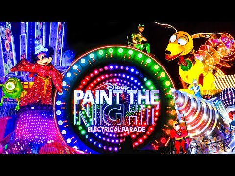 Farewell Paint the Night Parade - FULL PARADE Disney 2018 Mp3