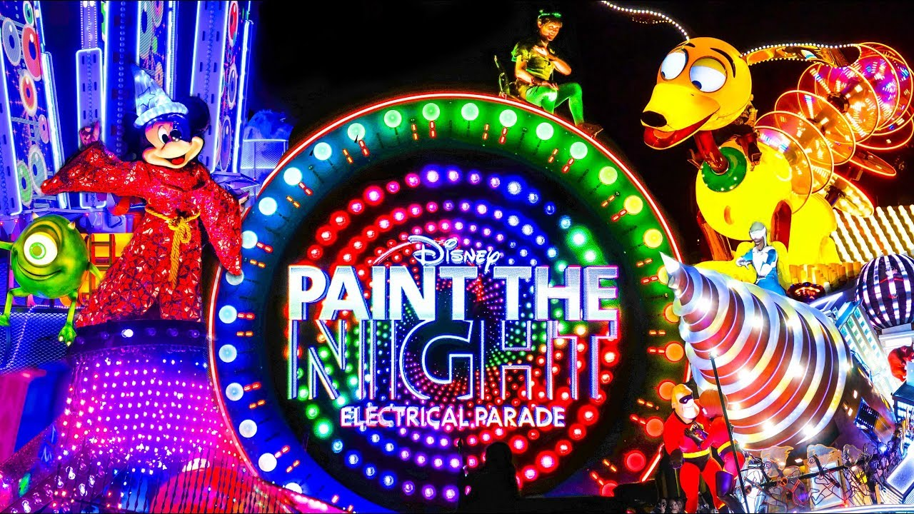Image result for paint the night parade