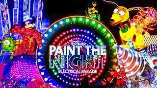 Farewell Paint the Night Parade - FULL PARADE Disney 2018