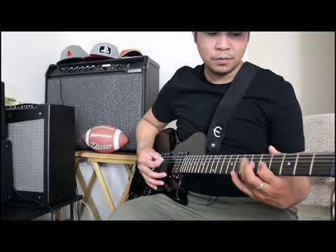 Checking my Line6 Mkii 2×12 with Slash's solo