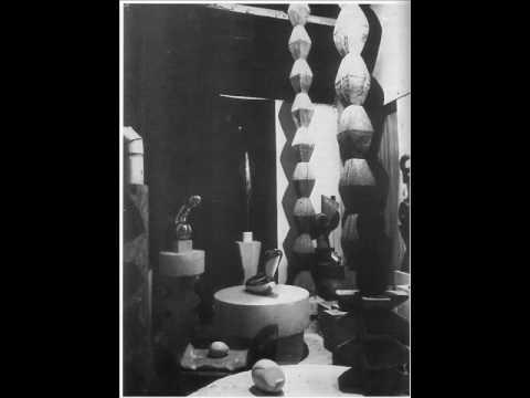 Erik Satie & Constantin Brancusi