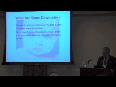 """The Tedium Is the Message?"" - Robert K. Blechman - 2012 General Semantics Symposium"