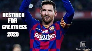Lionel Messi ● Destined for Greatness - Tobi, Manny ft. Janellé | HD