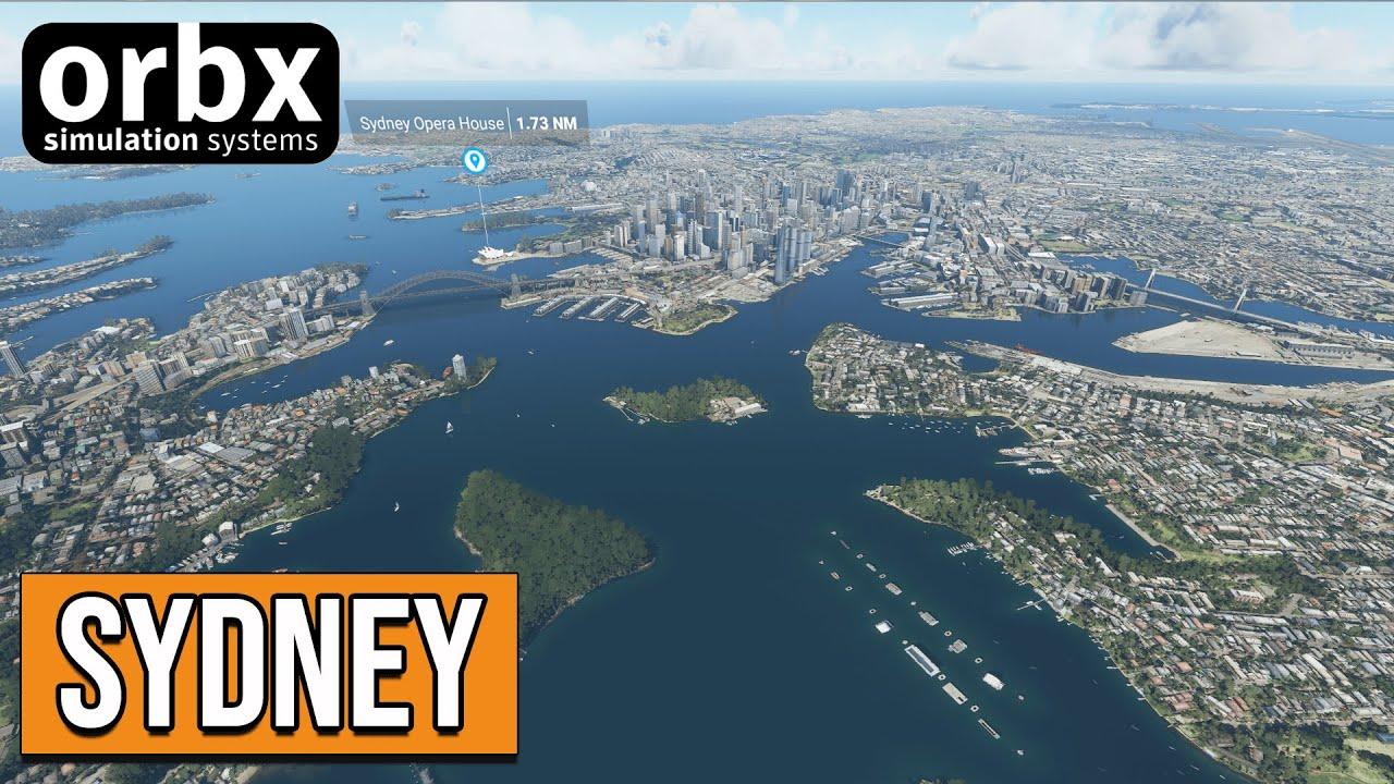 Review: Cityscape Sydney | ORBX | Microsoft Flight Simulator 2020 (MSFS  2020) - YouTube