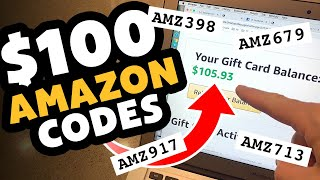 FREE Amazon Gift Card Codes! 2020 (No Human Verification) Make Money Online