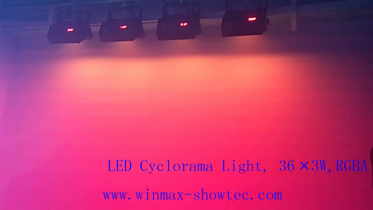 Led Cyclorama Lights
