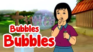 Bubbles Bubbles Cartoon Rhyme For Kids | English Nursery Rhyme | Animated Rhymes