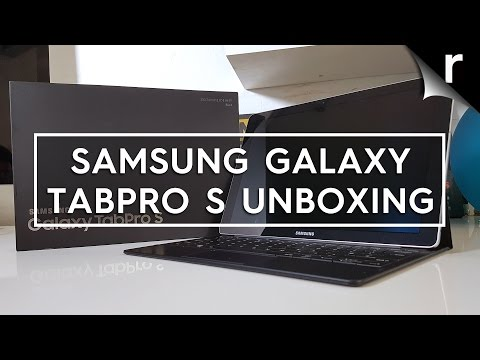 Samsung Galaxy TabPro S Unboxing & Hands-on Review