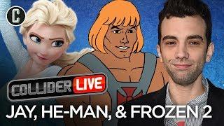 Jay Baruchel in studio! He-Man, Rambo and Frozen 2 Oh, My! - Collider Live #72