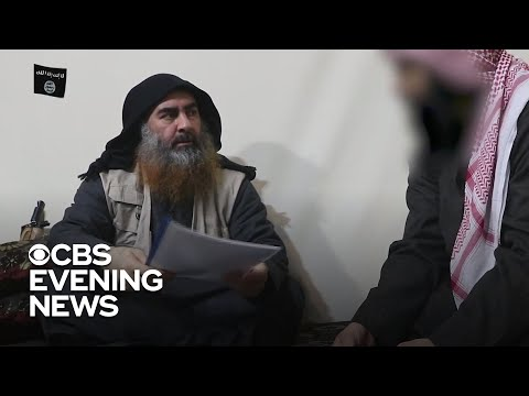 ISIS leader Abu al-Baghdadi seen in new footage
