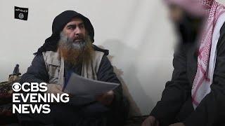 ISIS leader Abu al-Baghdadi seen in new footage