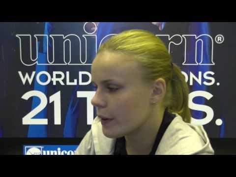 Anastasia Dobromyslova speaks to Stuart Pyke