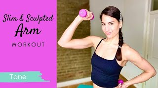 Slim & Sculpted Arm Workout - Feel the Burn