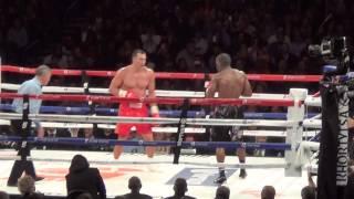 Waldimir Klitschko vs. Bryant Jennings ROUND 12 Madison Square Garden 4/25/15