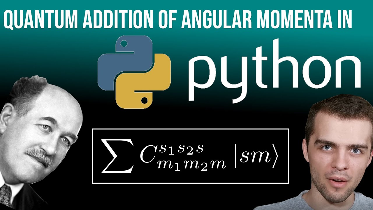 Quantum Addition of Angular Momentum in Python: Obtaining the Clebsch-Gordan Coefficients