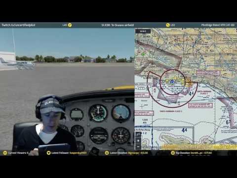 ✈ S1.E38: To Oceano airfield!   A2A   PilotEdge   Prepar3D