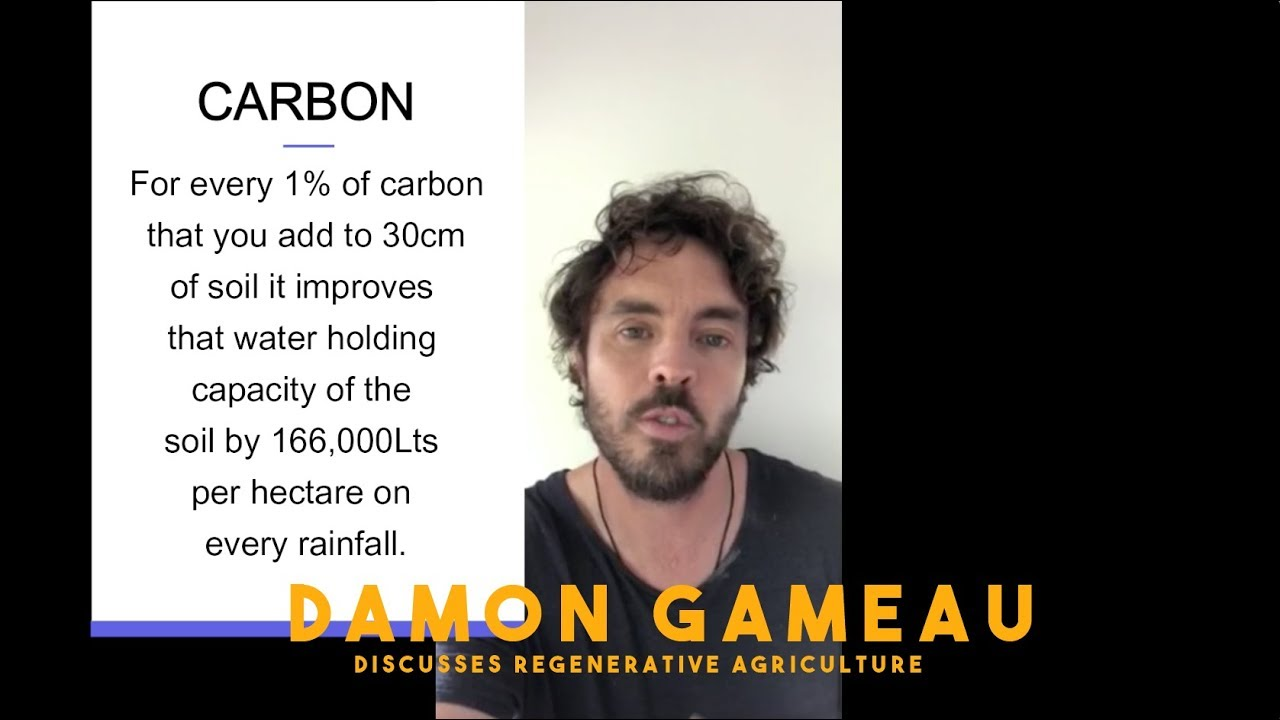 Damon Gameau discusses Regnerative Agriculture