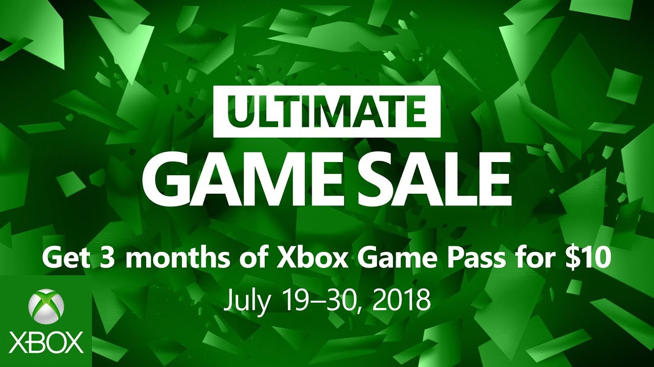 Here's every deal in Xbox's massive Ultimate Game Sale