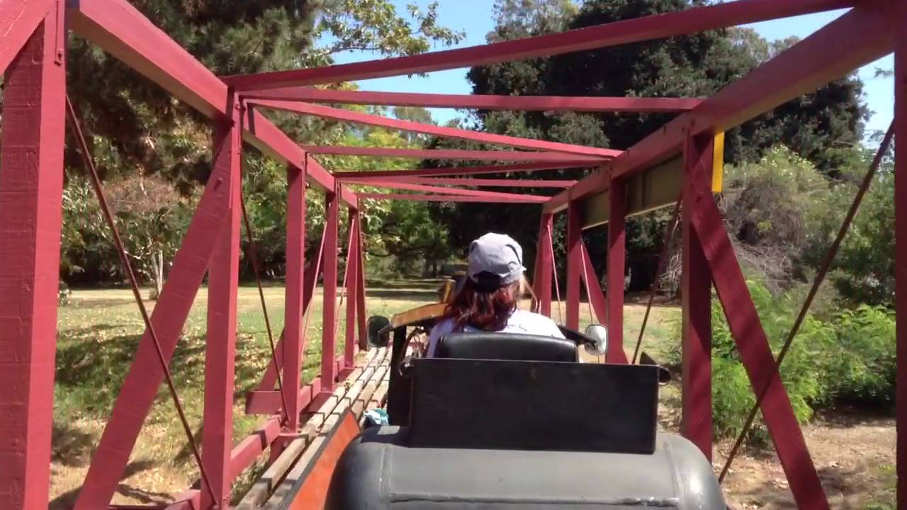 griffith park southern railroad train ride youtube