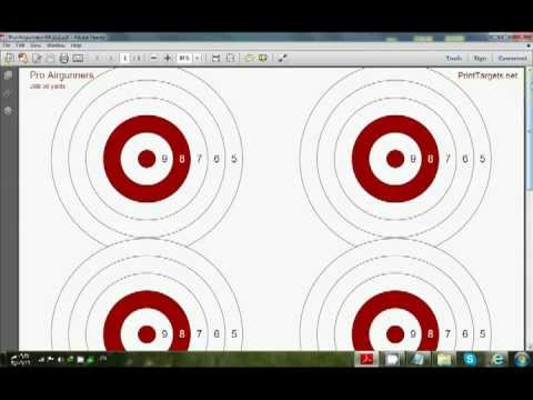 How to make pro shooting targets for free