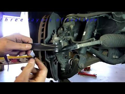 Tie rod or Ball joint boot repair secret Mark's Mechanic Minute