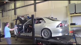 2JZ Lexus IS300 Dyno Pulls 664/535