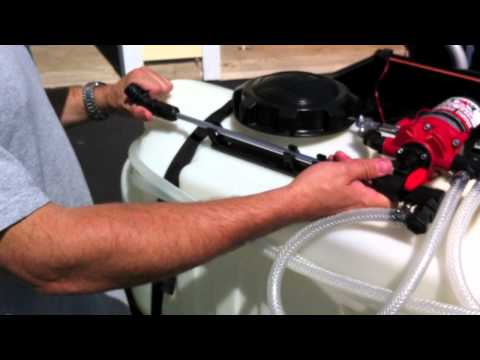 NorthStar ATV Broadcast Spot Sprayer 2681210 Review - Tools in Action