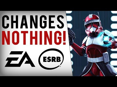 """ESRB's Shameful """"Answer"""" To The Loot Box Battlefront 2 Mess..."""