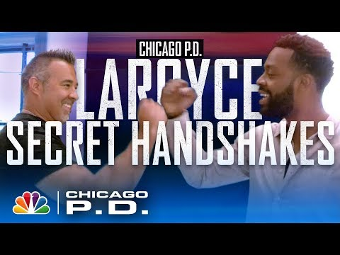 Handshakes, Hugs And Getting Down With LaRoyce Hawkins - Chicago PD
