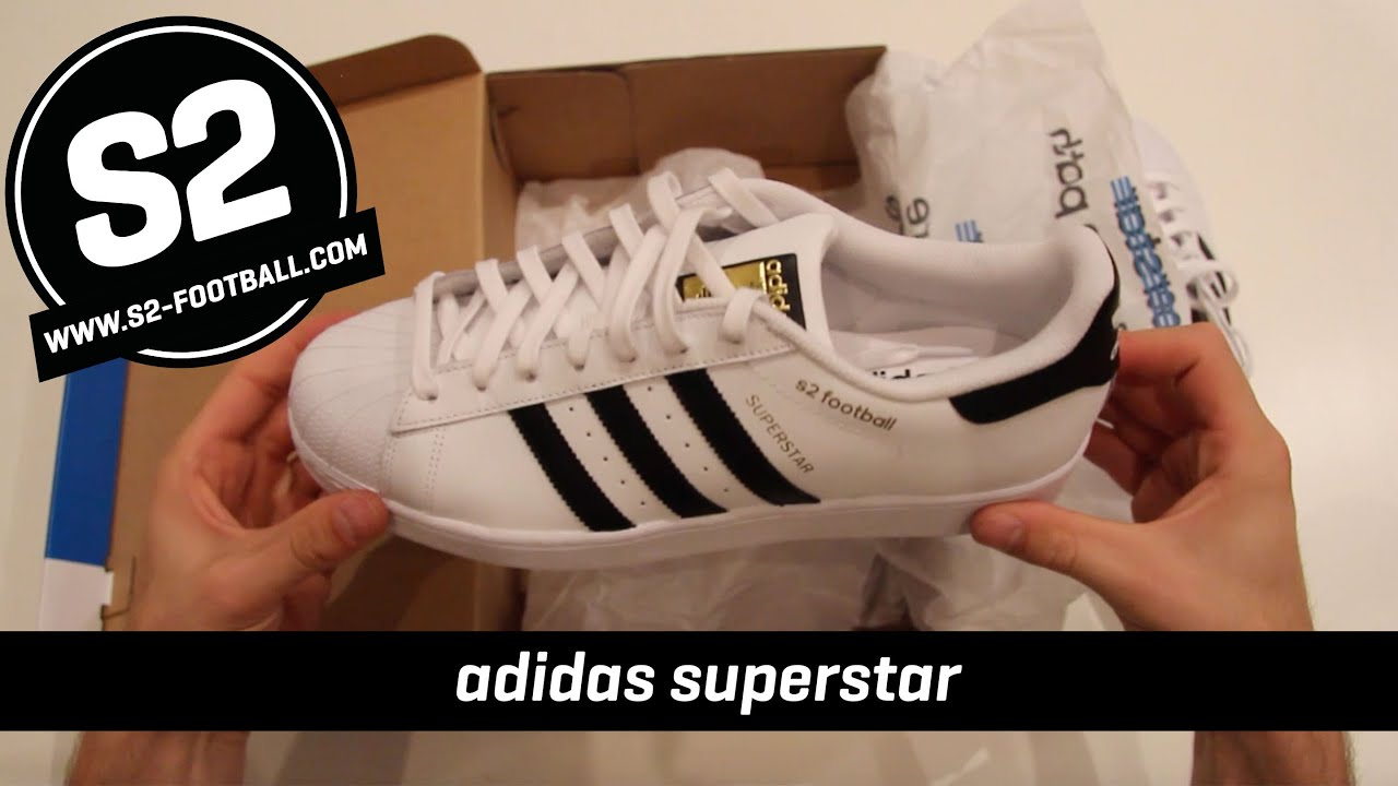 dd13404c610724 S2 TV - adidas superstar customized S2Football - YouTube