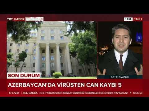 TRT Haber Sıcak Haber'de Azerbaycan'daki Son Durumu Izleyicilere Aktardık.