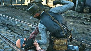 Red Dead Redemption 2 - Homeless Blind Man Exposed For Lying