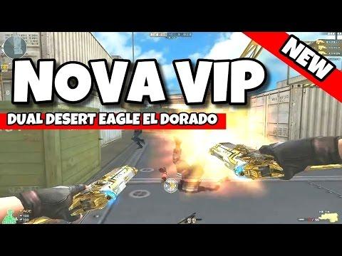 CROSSFIRE! NOVA DUAL DESERT VIP ! DESERT EAGLE EL DORADO VVIP