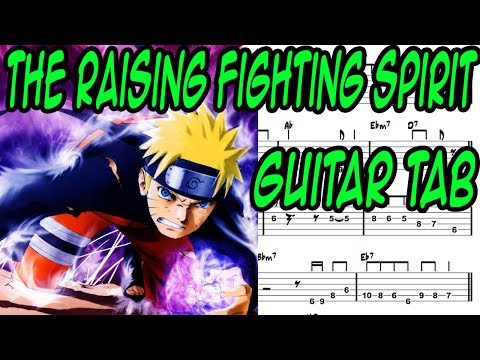 Learn How To Play The Raising Fighting Spirit Fingerstyle Acoustic Guitar Lesson TABS(Naruto.Ost)