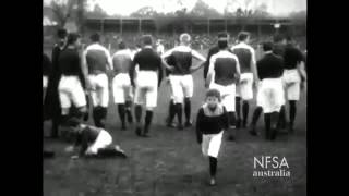 Earliest surviving Australian Rules footage: 1909 VFL Grand Final, South Melbourne vs Carlton