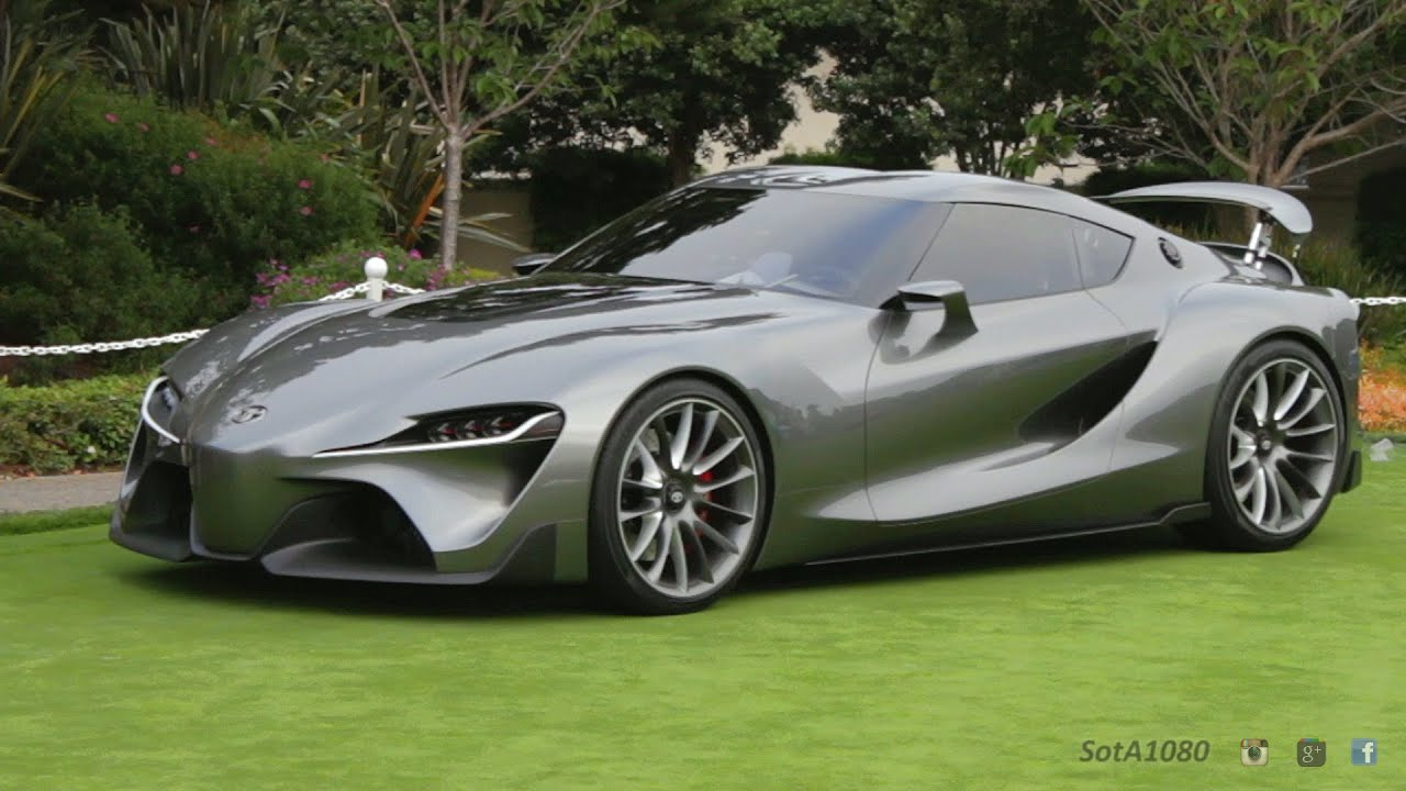 toyota ft1 graphite concept youtube