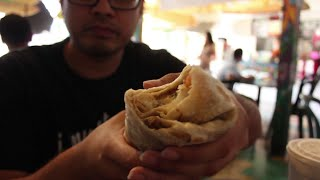 Ssb Eats A California Burrito With Hash Browns At Taco Surf