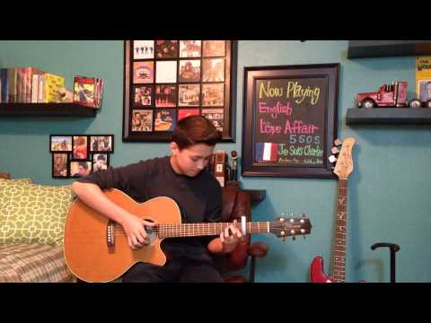 English Love Affair - 5SOS (5 Seconds of Summer) - Fingerstyle Guitar Cover