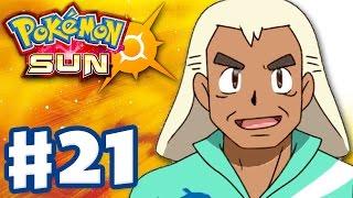 Pokemon Sun and Moon - Gameplay Walkthrough Part 21 - Recycling Plant and Samson Oak! (Nintendo 3DS)