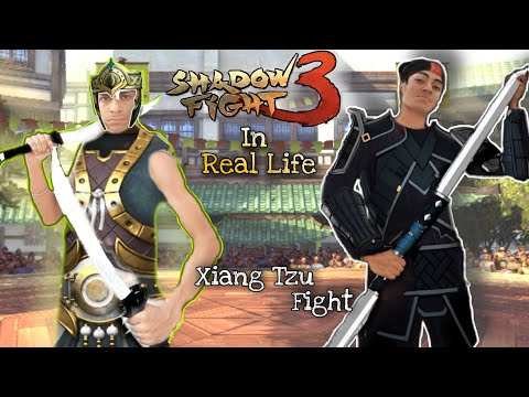 Shadow Fight 3 In Real Life (Chapter -2) Xiang Tzu Boss Battle.