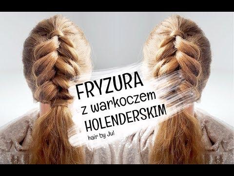 Fryzura Z Warkoczem Holenderskim Hair By Jul